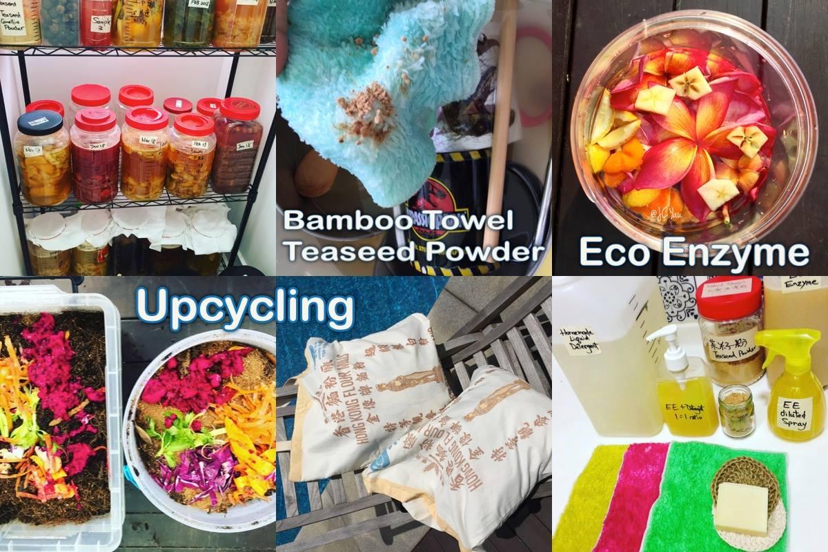 Upcycling. Sustainable. Eco Enzyme. Go Vegan