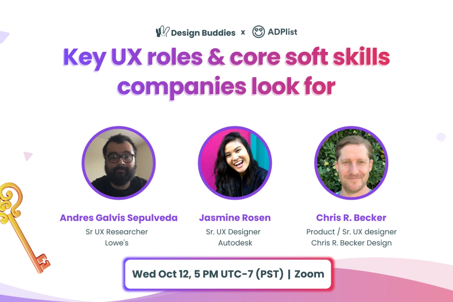 Key UX roles & core soft skills companies look for