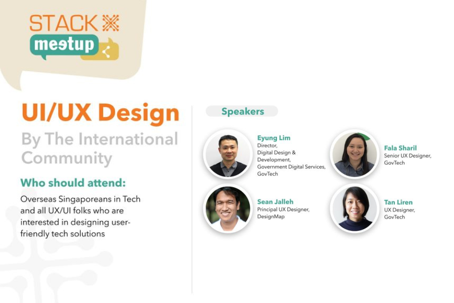 STACK-X Meetup: UX/UI Design by the International Community